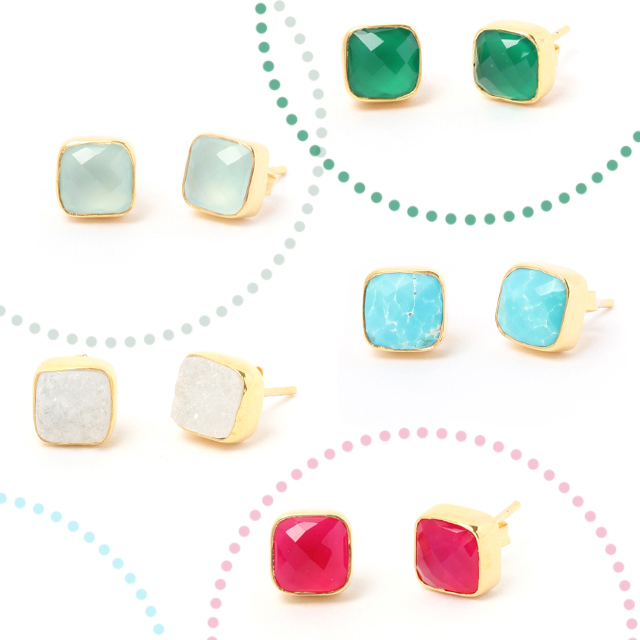 Cushion_Gemstone_Studs