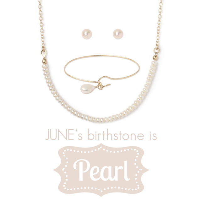 Pearl Jewelry for June birthstone