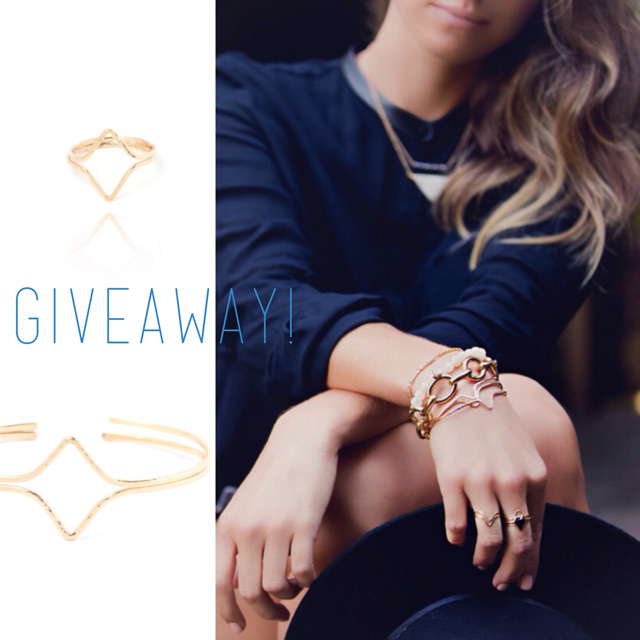 Jewelry giveaway with fashion blogger The August Diaries