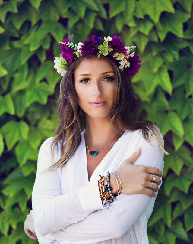 Jewelry Lookbook floral crown