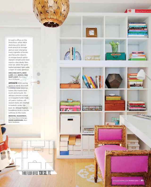 Leah Belford home office