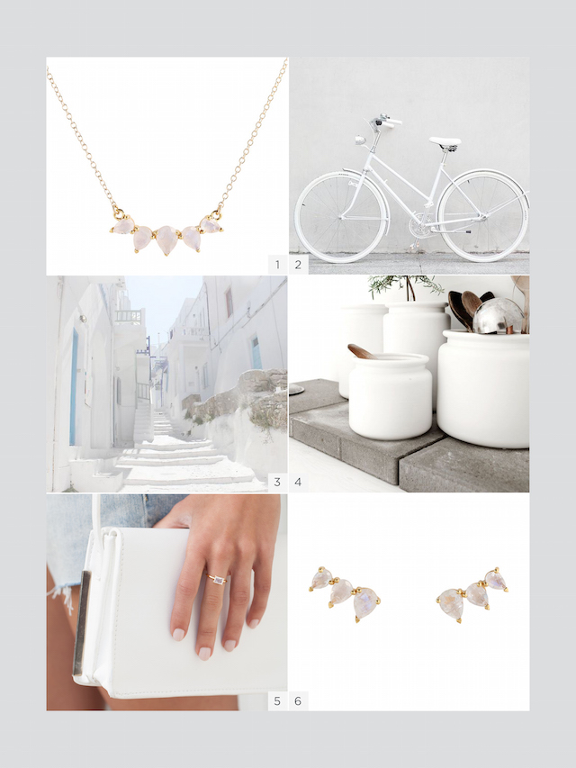 Summer Whites Jewelry Blog Post