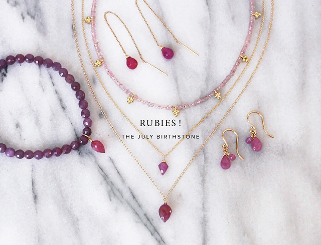 Rubies! July Birthstones