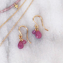Ruby isabel earrings